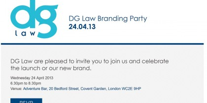 DG Law email marketing