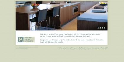 Inspiring Dream Interiors website