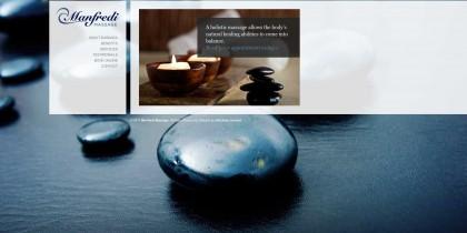 Manfredi Massage website