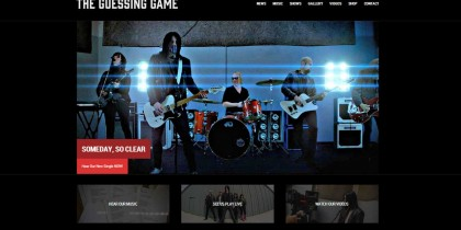 The Guessing Game website