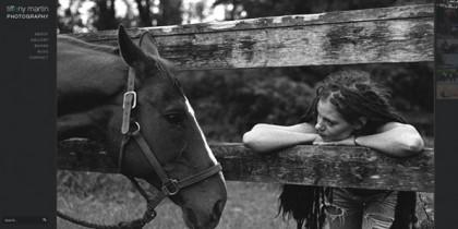 Tiffany Martin Photography website