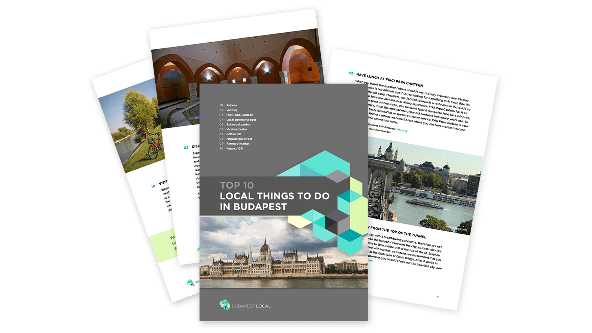 Budapest Local brochures