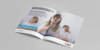 CACI Print Adverts