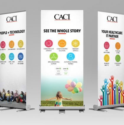 CACI Roll Up Banners